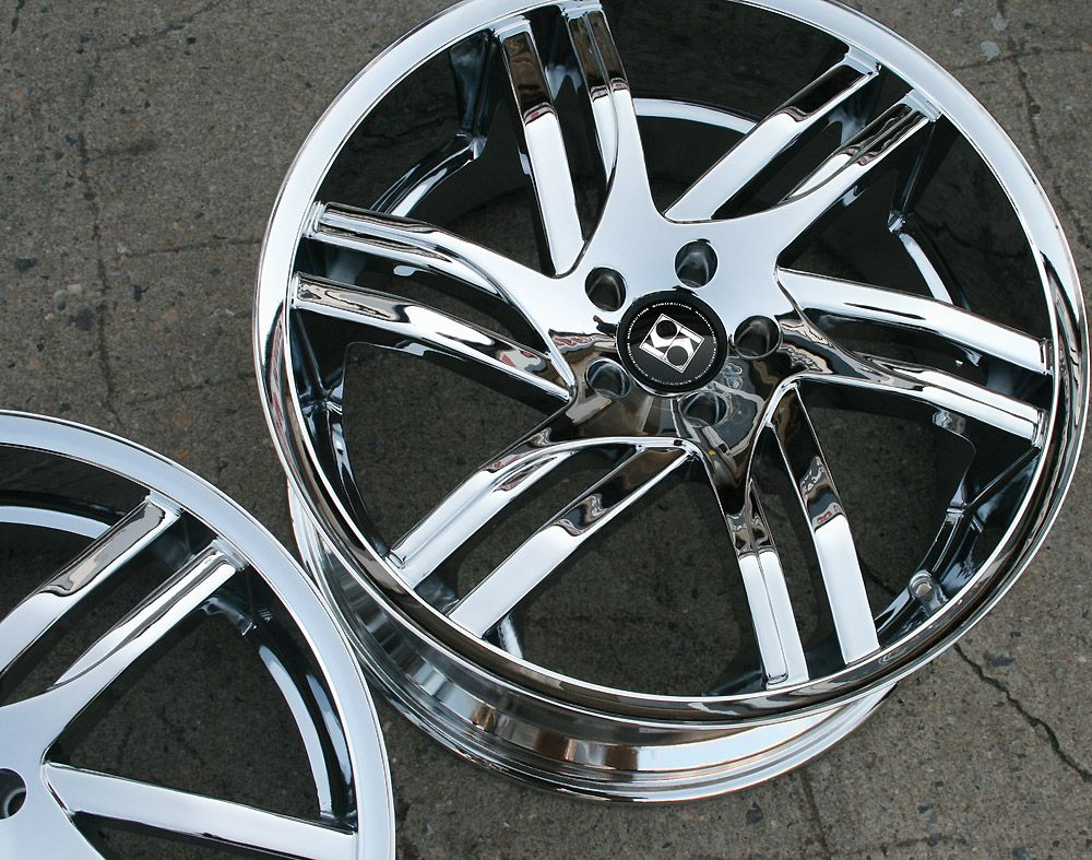 KOKO KOUTURE SPLINE 20 CHROME RIMS WHEELS BMW X3 E83 / 20 X 8.5/10 5H