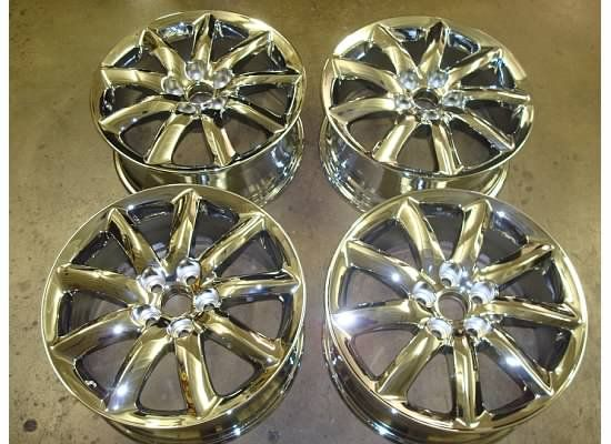 18 Lexus LS460 Chrome Wheels Rims LS 460 07 10 08 09 Set